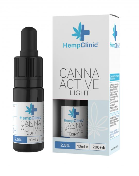 CannaActive HempClinic Light 2,5%