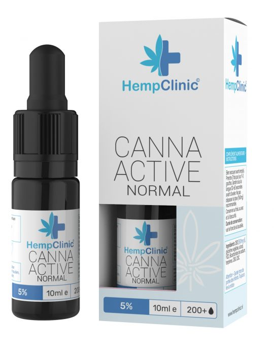 CannaActive HempClinic Normal 5%
